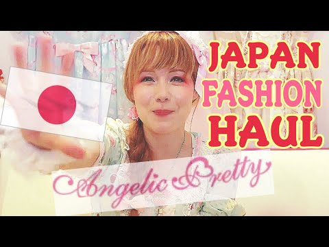 ♡ TOKYO Lolita Fashion HAUL By Angelic Pretty ♡ Brand NEW Japanese Fashion BARGAIN Items From Japan