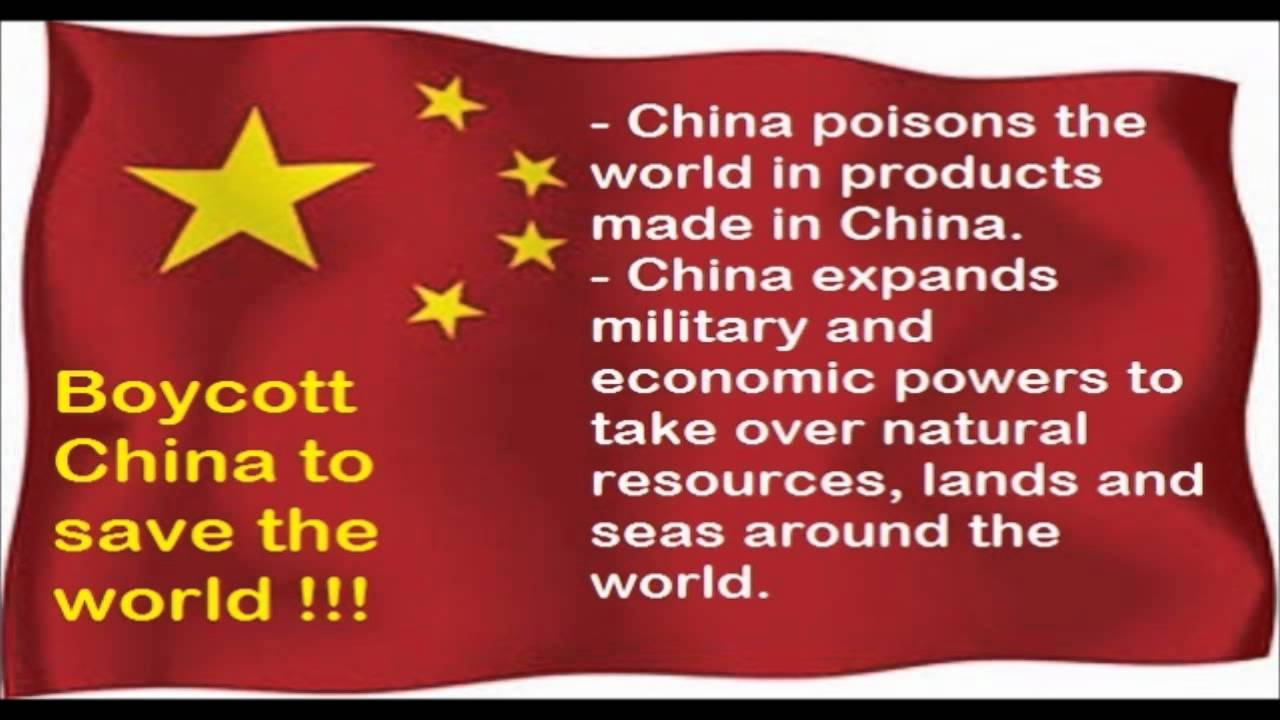 Image result for boycott China in the world