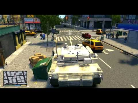 GTA IV: Fun With GTA V Mods