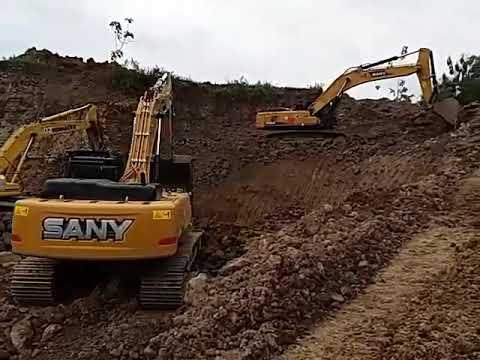 SANY excavator SY365H