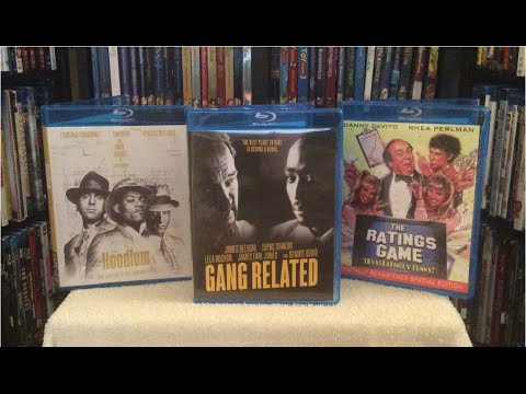 Gang Related / Hoodlum / The Rataings Game Blu Ray Unboxing/Review - Olive Films July 2016