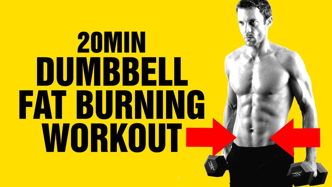 20min dumbbell weight loss workout get ripped fast