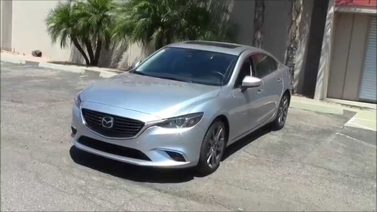 2016 mazda 6 grand touring youtube. Black Bedroom Furniture Sets. Home Design Ideas