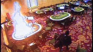 CCTV footage of Manila casino attack