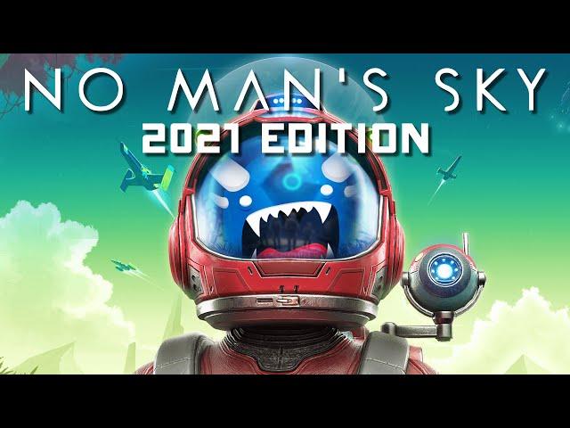 No Man's Sky 2021 Revisited - Checking out a CRASHED CARGO SHIP!
