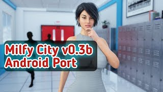 Milfy City v0.3b for ANDROID [Port] | Gameplay | Download