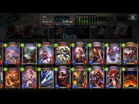 Shadowverse: (Post-July Nerf) Vengeance Blood, the best to climb?