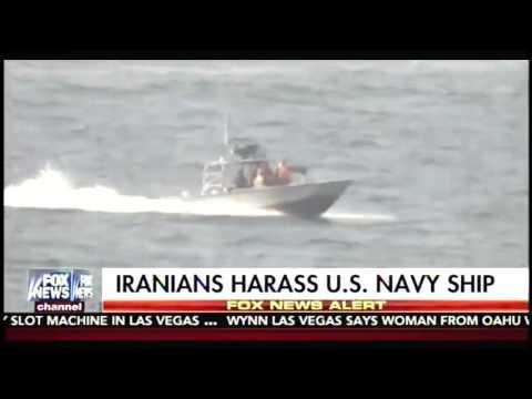 Four Iranian Boats Harass U.S. Navy Warship