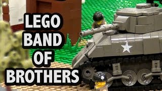 LEGO WWII Battle of Nuenen | Band of Brothers