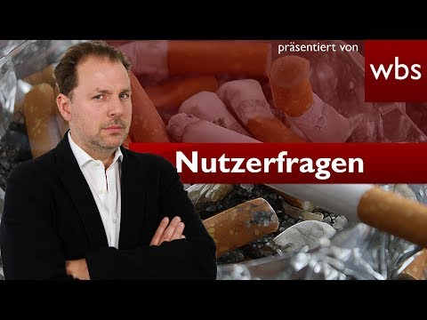 Ist Rauchen Körperverletzung? | Nutzerfragen Rechtsanwalt Christian Solmecke