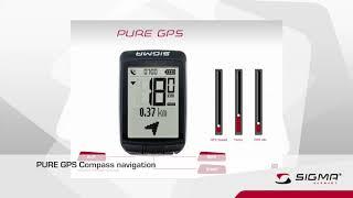 Велокомпьютер Sigma PURE GPS обзор функций