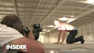 Men's Fitness photoshoot with  Kellan Lutz