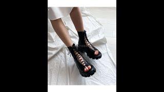 유니크하면서 편안한 착화감 좋은 예쁜 여성 여름 신발 …