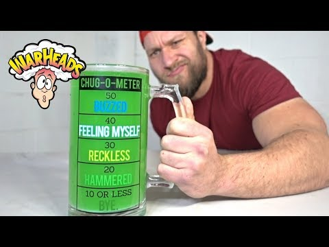 Download Youtube: World's SOUREST Drink Challenge 2.0 (EXPIRED Warheads Sour Candy Squeezers)