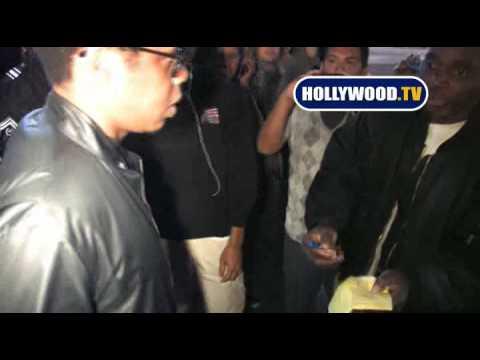 Jay Z Laughs At Chris Brown Swine Flu Joke