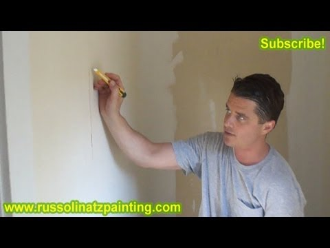 Diy Skim Coat Wallpaper Painting Walls Part 1 Drywall Repair Wall Preparation