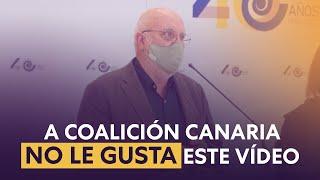 💥 A los amigos de Coalición Canaria no les gustará que compartas este vídeo