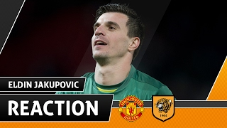 Manchester United v The Tigers | Reaction With Eldin Jakupovic | 01.02.17 | Hull Tigers