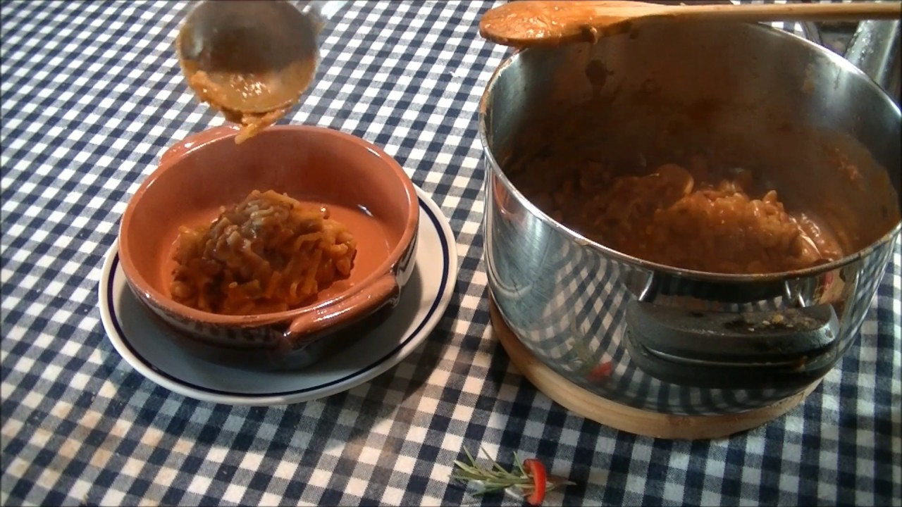 Pasta e fagioli ricetta n 119 dal libro la cucina napoletana di j car la francesconi youtube - Ricette cucina napoletana ...