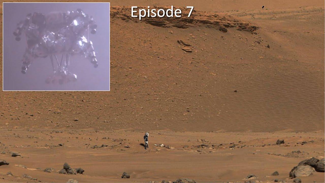 Download Mars rover spots its spacecraft wreckage
