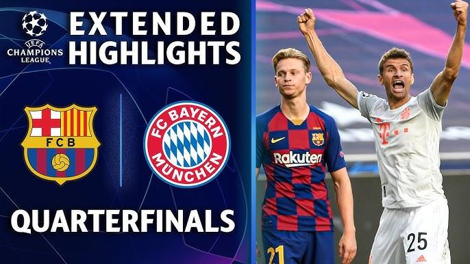 Barcelona vs. Bayern Munich | Champions League Quarterfinal Highlights | UCL on CBS Sports