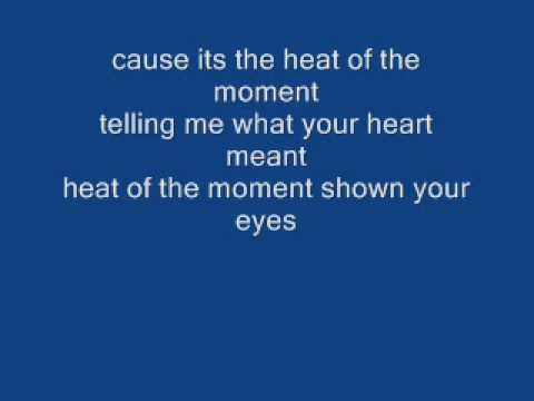 Heat of the Moment - Asia - With lyrics