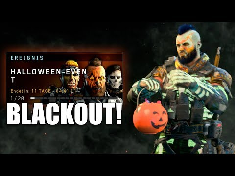 Black Ops 4 HALLOWEEN EVENT! Schwarzmarkt / Battlepass in BLACKOUT leveln!