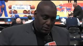 Former N.Y. Knicks forward Anthony Mason interview.