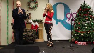 tracy delucia performs for our annual joe michelle holiday concert series