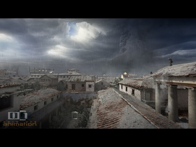 A Day in Pompeii – Full-length animation