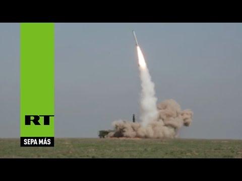 Impresionante lanzamiento de un misil desde un sistema Iskander-M