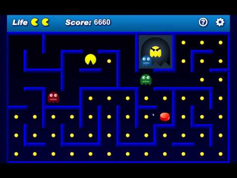 Let's Short Play Ghost Eater Advanced (Facebook's Pacman)