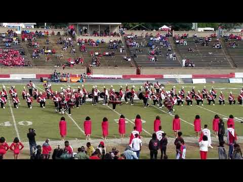 WSSU 2018 Homecoming - Red Sea of Sound Halftime show