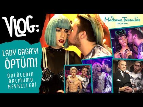 LADY GAGA'YI ÖPTÜM! | Ünlülerin Balmumu Heykelleri | Madame Tussauds İstanbul'a Gittim