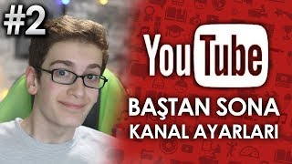 YOUTUBE PROFİL RESMİ VE BANNER YAPIMI - Youtube Eğitim Seti #2