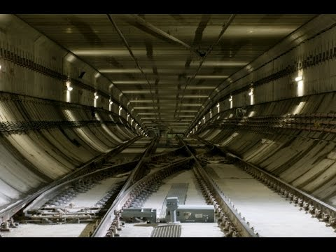 ⁴ᴷ ⁶⁰fps Barcelona metro line 9 south to airport time-lapse