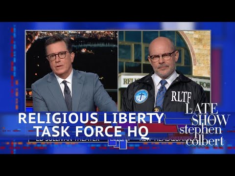 Colbert Meets A Religious Liberty Task Force Special Agent