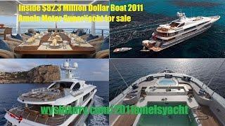 Inside $82.3 Million Dollar Boat 2011 Amels Motor SuperYacht for sale