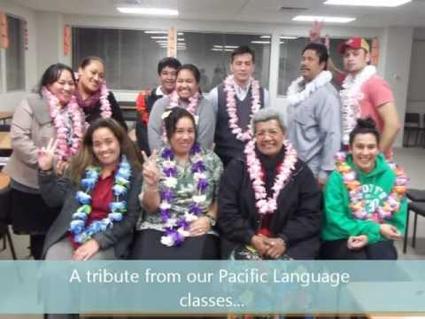 Samoan Language Week 2012: A tribute from our Pacific Language classes