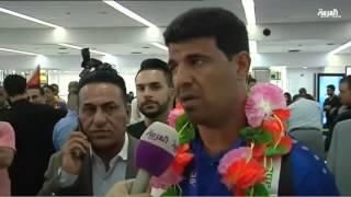 إستقبال المنتخب العراقي المتوج بلقب آسيا لكرة القدم للناشئين