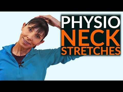 Physio Neck Exercises Stretch And Relieve Routine (UPDATE)