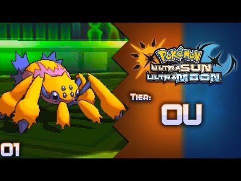 """ARACNOFOBIA!"" - Batalha #01: SharK VS EduPlays | Smogon OU - Pokémon USUM"