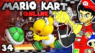 Smarty Rage Quits! (Mario Kart 8 Online: The Derp Crew - Part 34)
