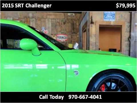 2015 srt challenger used cars fort collins co youtube. Black Bedroom Furniture Sets. Home Design Ideas