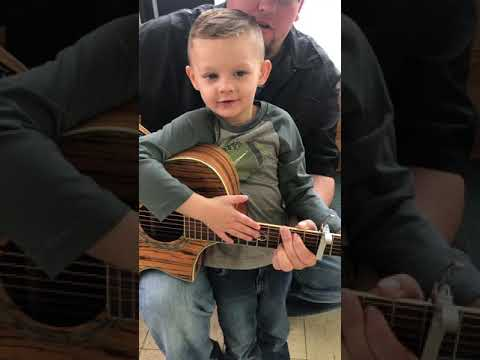 Michelle Buckles - This Little Stud Performing Luke Combs I Got Away With You Is Adorable