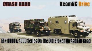 BeamNG Drive - Racing The ETK 6000 & 4000 Series On The Old Broken Up Asphalt Road