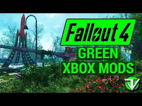 FALLOUT 4: Top 5 BEST Grass Overhaul CONSOLE MODS! (Make The Commonwealth GREEN Again!)