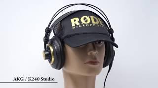360°動画 AKG / K240 Studio モニターヘッドホン