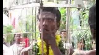 horrible mouth piercing ashok nagar amman temple chennai- india