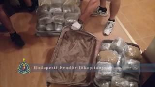 Két albán gyanúsított - 25 kilogramm kábítószer